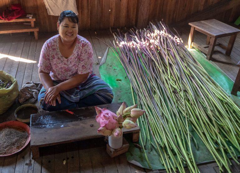 Lootus Inle Myanmar
