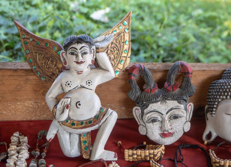 Inle Markkinoilla Myanmarissa