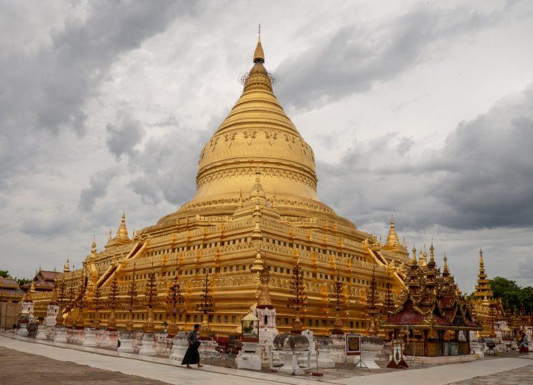 Shwezigon Bagan Myanmar Baganin tuhannet temppelit