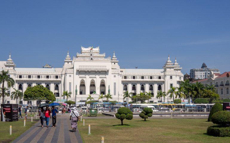 Colonial Yangon - tärkeimmät nähtävyydet