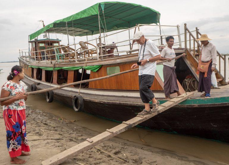 Mandalay Mingun jokilaiva