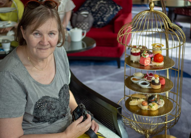 Shangri-La Afternoon Tea Bangkokin paras hotelli