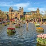 Muistoja keväisestä Amsterdamista