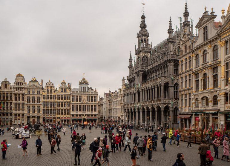 Grand Place Muistoja Brysselistä