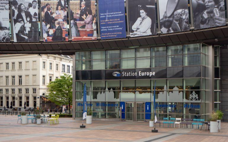 Euroopan parlamentti Muistoja Brysselistä