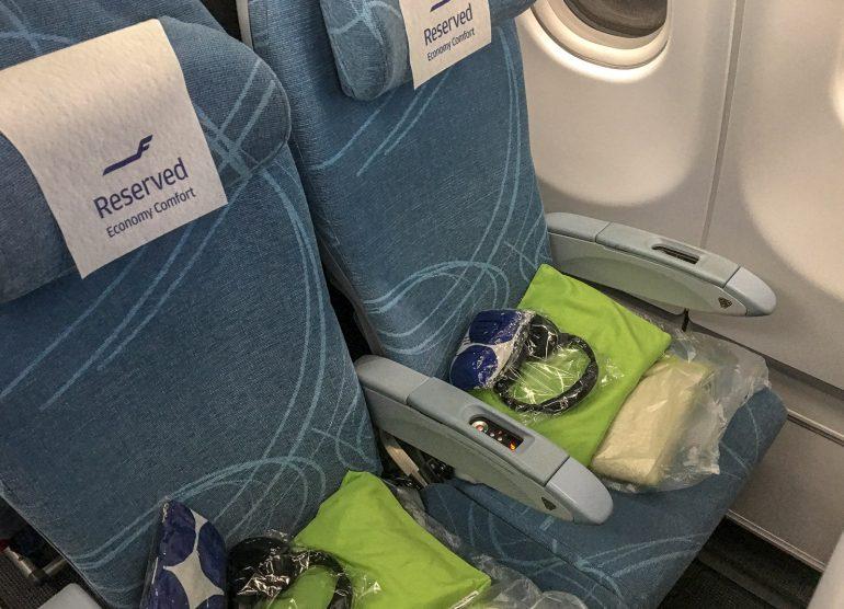 Finnair Economy Comfort - Finnair Economy Comfort Businessluokka