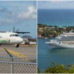 Karibiaa lennellen vai risteillen?