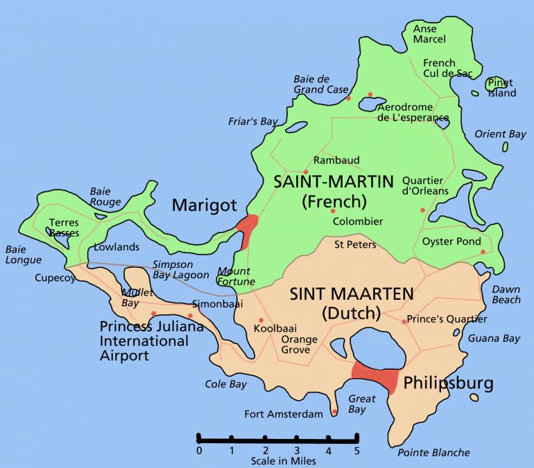 Sint Maarten Saint Martin