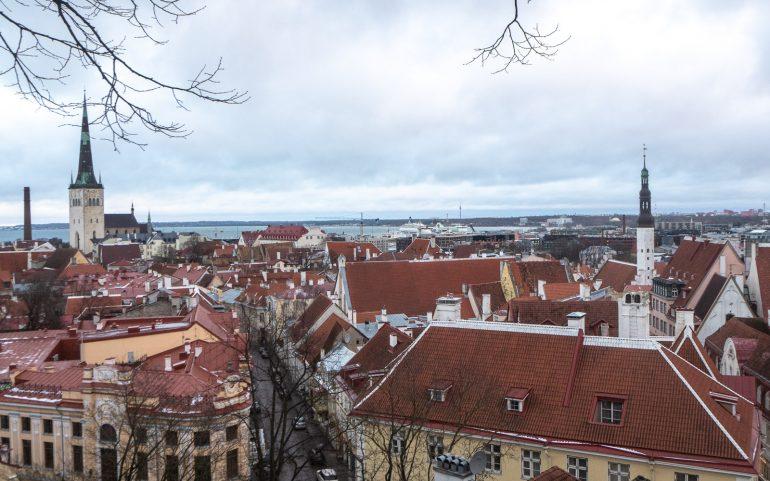 Tallinna Toompea Joulu Tallinnassa