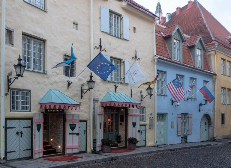 Schlössle Hotel Joulu Tallinnassa