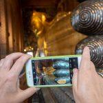 Bangkokin temppelit Chao Phraya -joen varrella