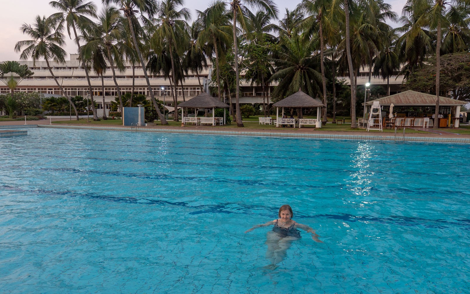 Togo Lome Sarawaka Pool matkailun huonoja puolia