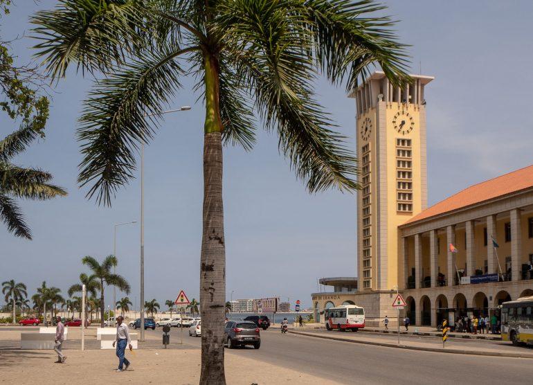 Luanda satama Angola