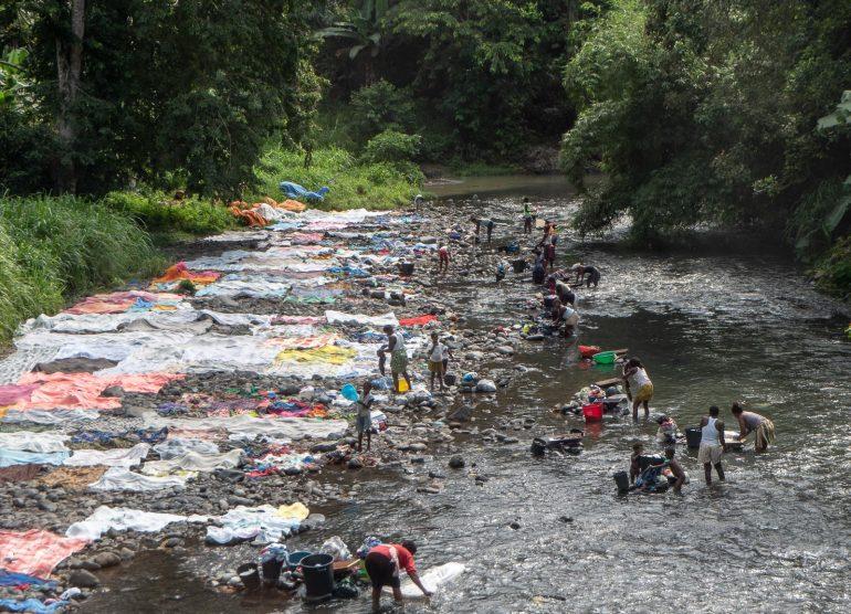 Sao Tome pyykinpesua