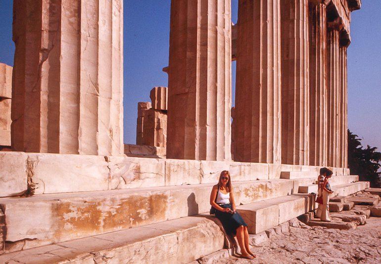 Ateena 1976 Kymmenen reissu-unelmaa #blogihaaste