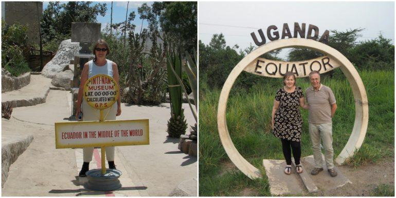 Päiväntasaajalla Ecuador ja Uganda
