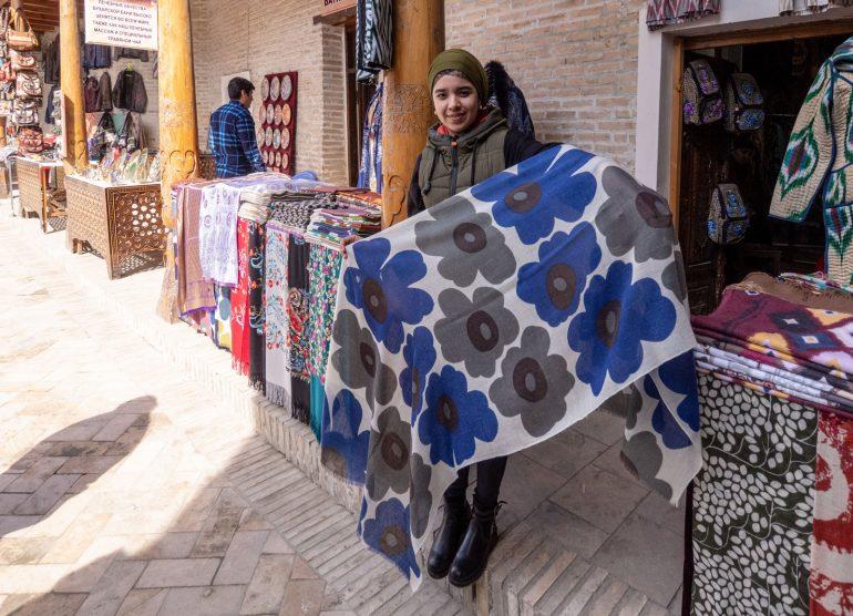 Unikkoa Bukharassa Matkabloggaajan päivä