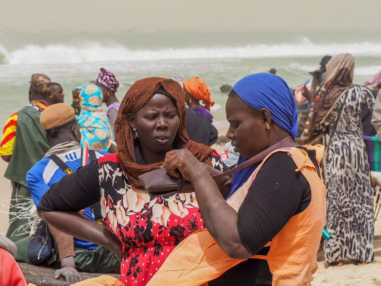 Mauritania kalamarkkinat