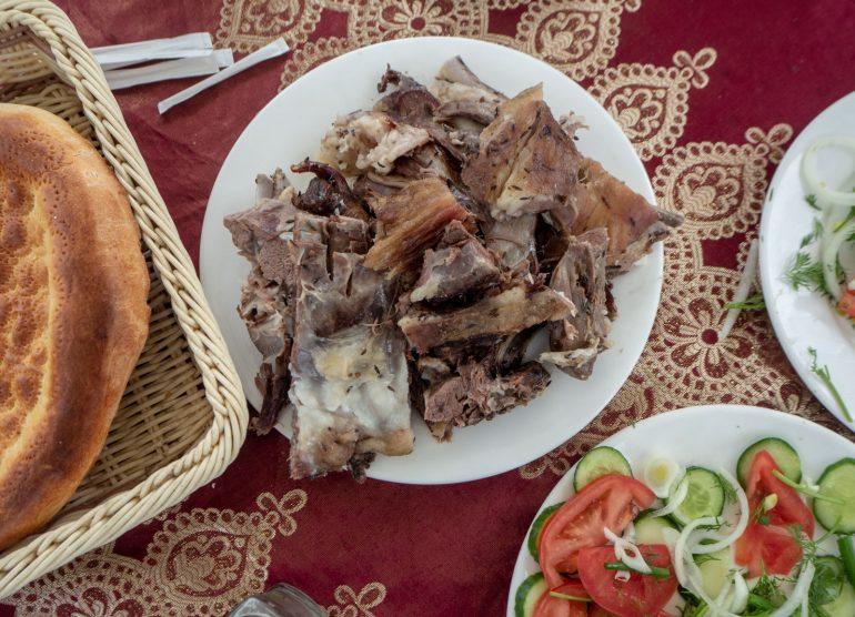 Savustettua lammasta Tadzikistan