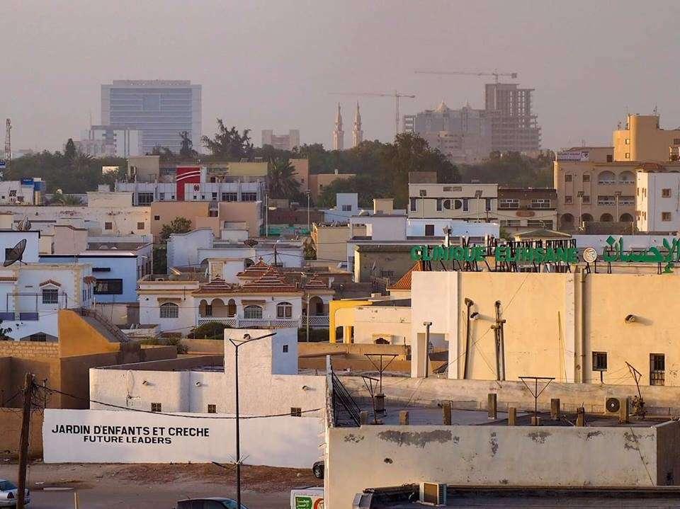 Erikoisia maita Mauritania