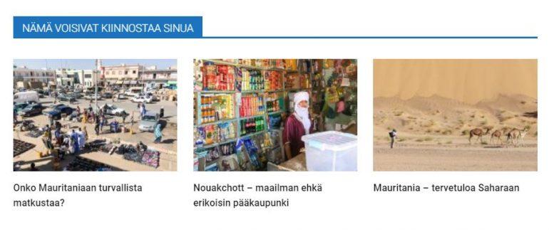 Kerran elämässä Mauritania