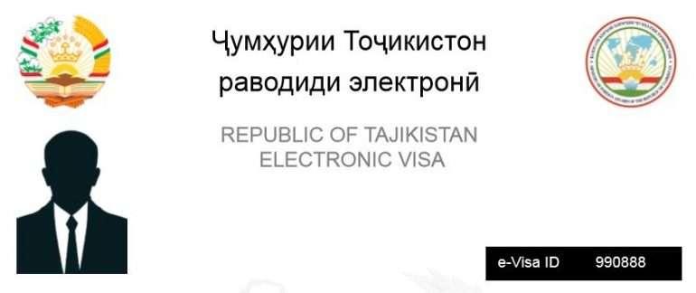 tadzikistan evisa