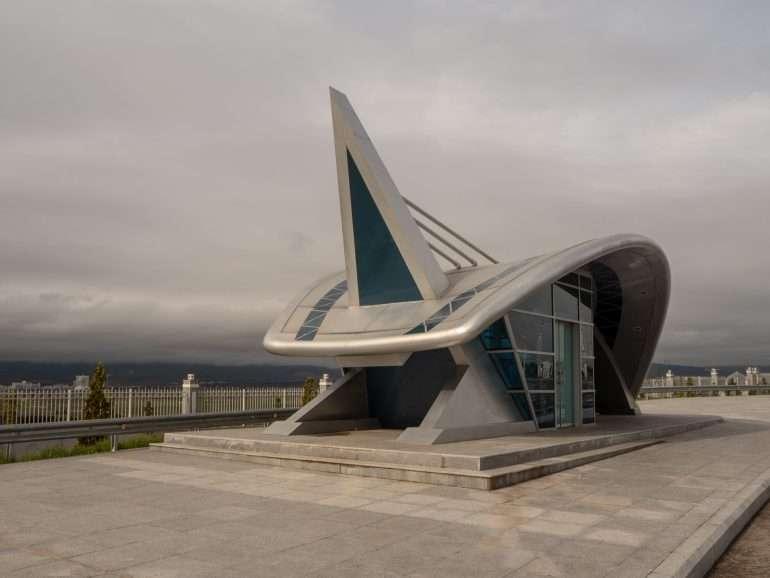 Bussipysäkki Ashgabat Turkmenistan Facebookissa
