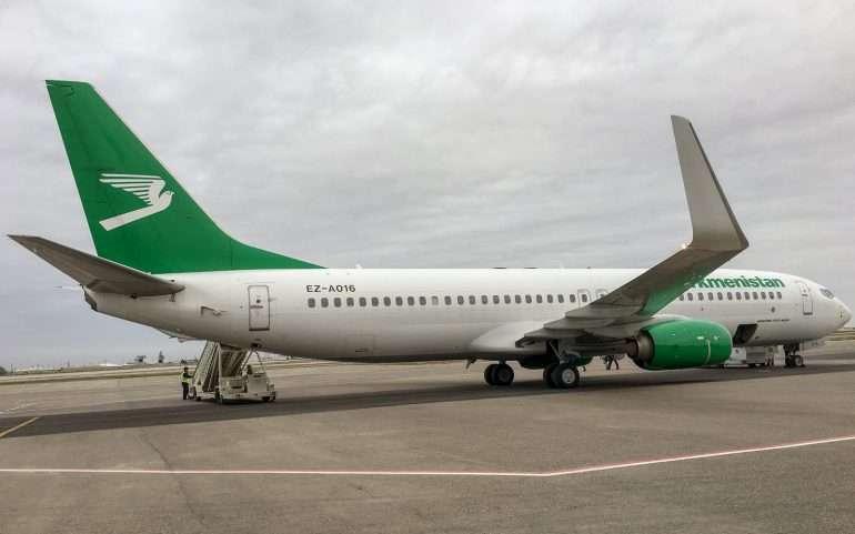 Turkmenistan Airlines Arial Travel Keski-Aasia