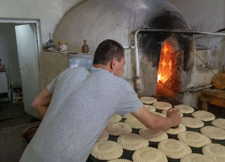 Uzbekistanilainen leipomo