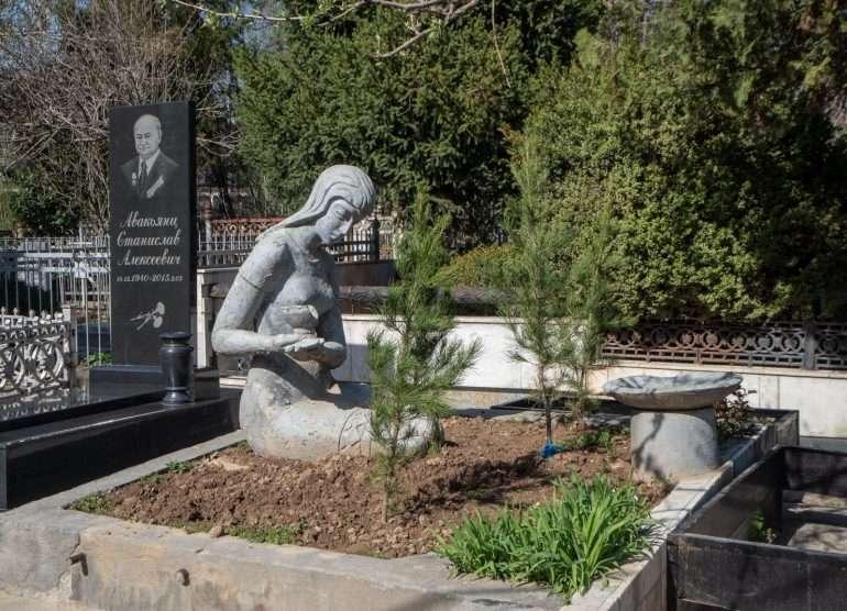 Venäläinen hautausmaa Dushanbe Tadzikistan