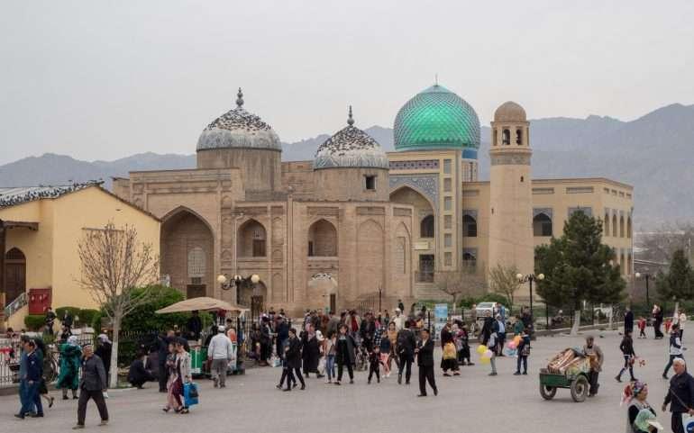 Khujand Dushanbesta Khujandiin