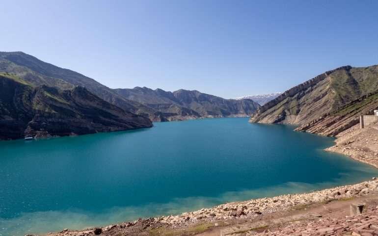 Nurek pato Tadzikistan