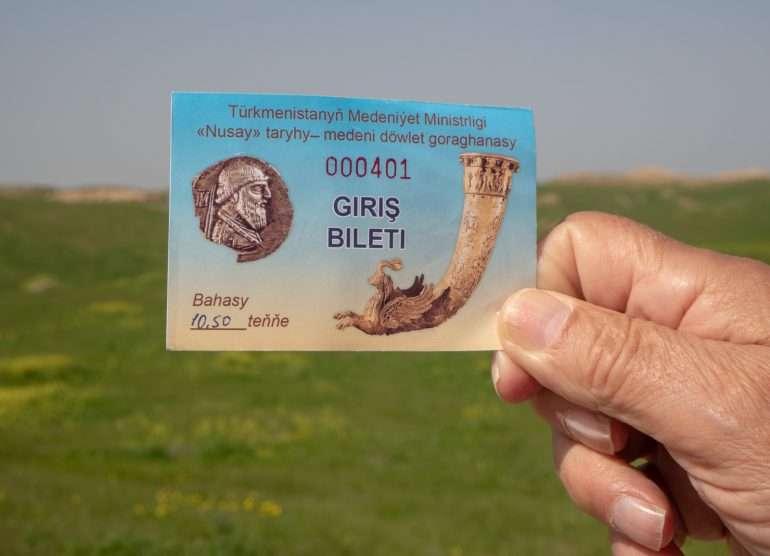 Turkmenistan kuvauslupa