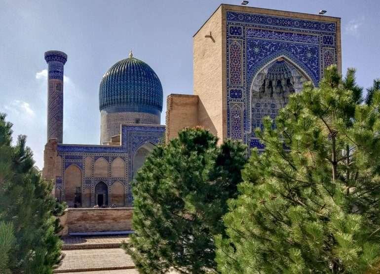 Amir Timur mausoleumi Samarkand