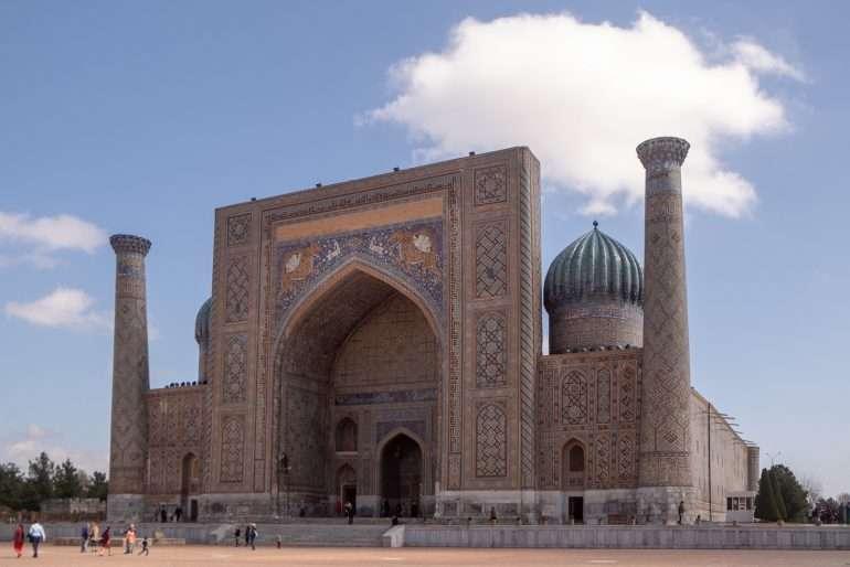 Registan Sherdor madrasa