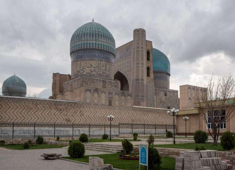 Bibi-Khan moskeija Samarkand