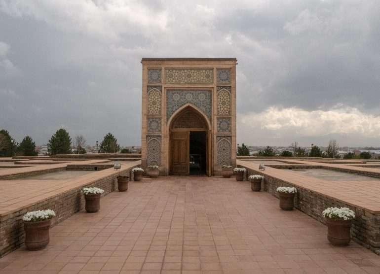 Ulugbekin tähtitieteellinen museo Samarkand