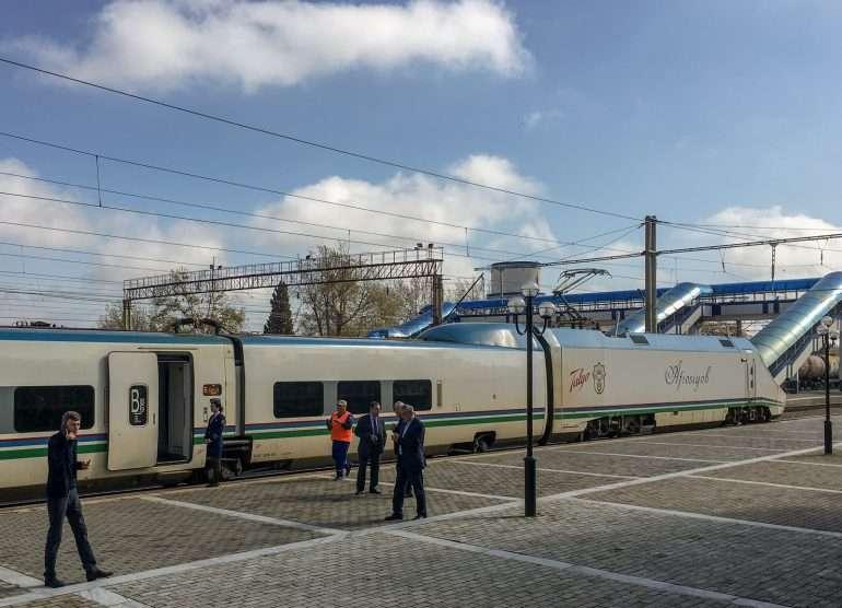 Juna Tashkent - Samarkand