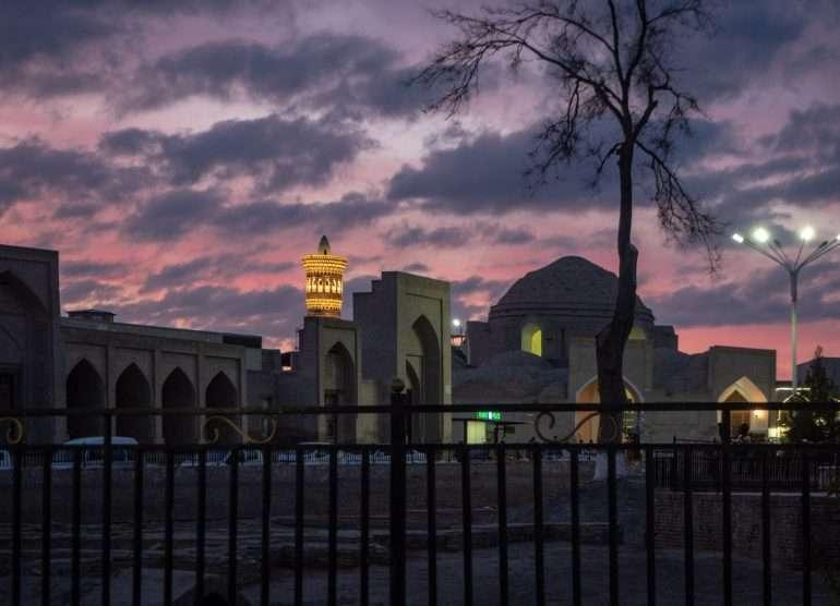 Kalon minareetti Bukhara
