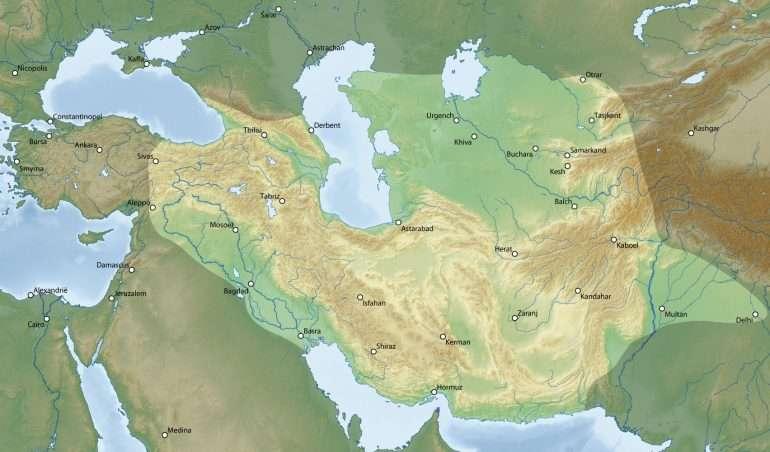Timuridien valtakunta Tashkent Shahrisabz Uzbekistan