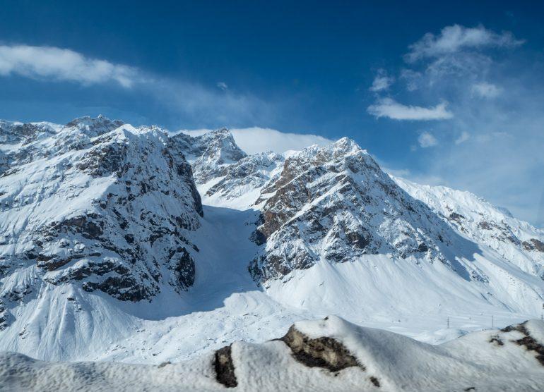Vuoret Tadzikistan Dushanbesta Khujandiin
