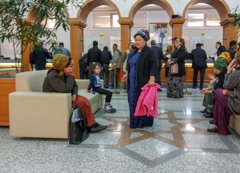 Pankissa Ashgabatissa