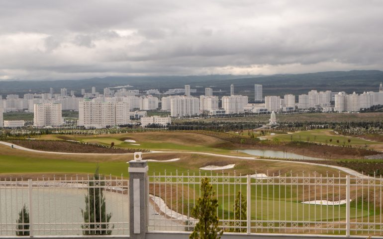 Ashgabat golfkenttä