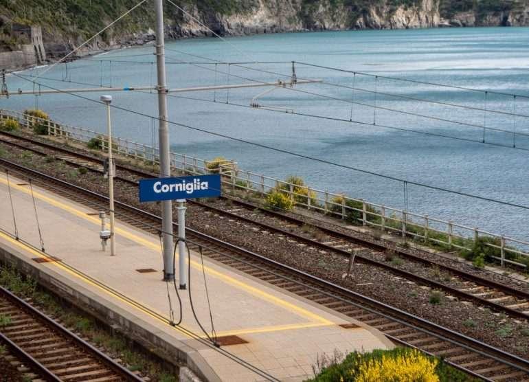 Corniglian asema Cinque Terre ja Toscana