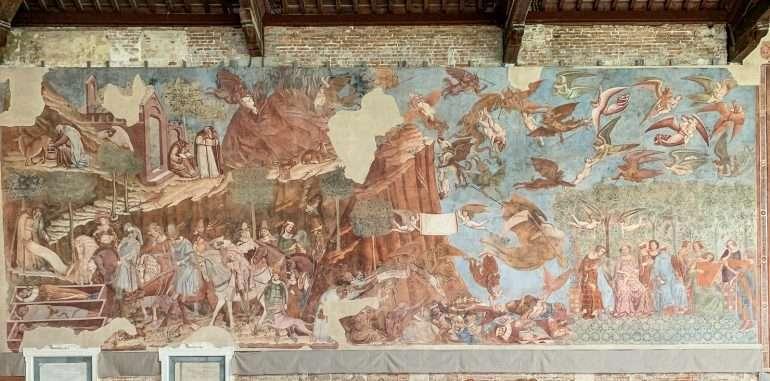 Camposanto Pisa Pisan neljä ihmettä
