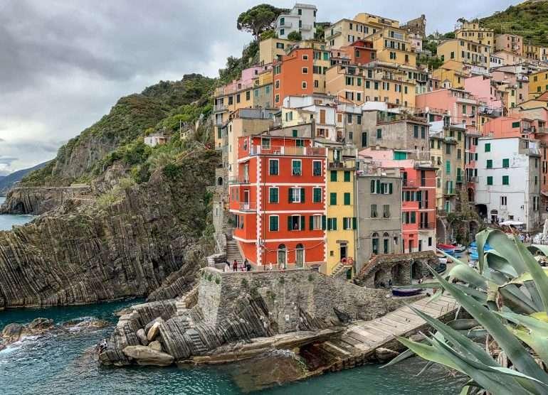 Riomaggiore Cinque Terre ja Toscana