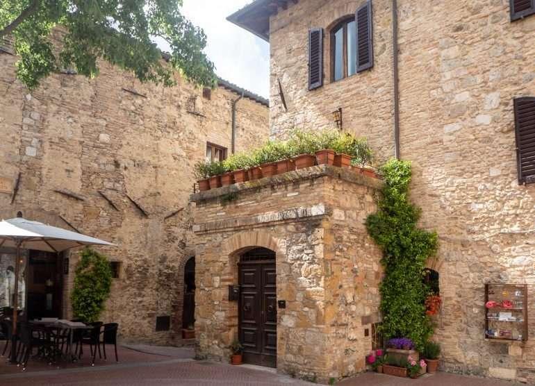 San Gimignano Cinque Terre ja Toscana