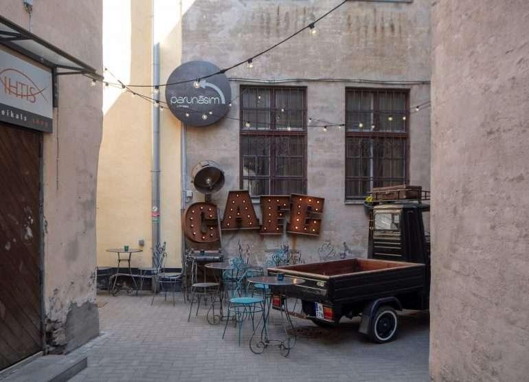 Most romantic cafe Riika