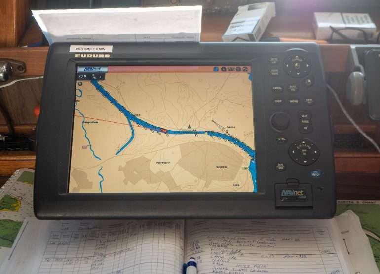 M/S Karelian navigointi