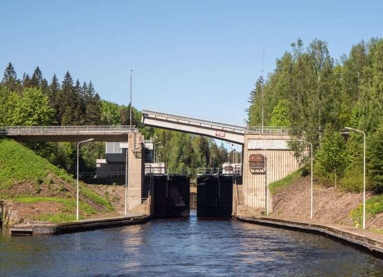 Saimaan kanava Cvetotchnoe
